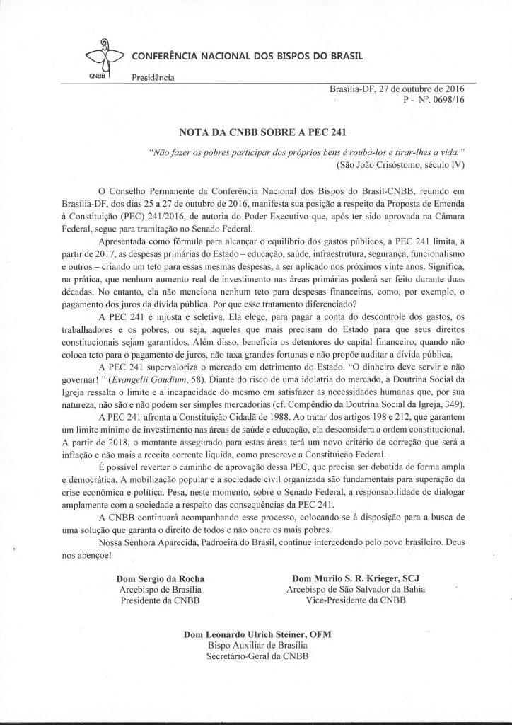 nota-cnbb-sobre-pec-241