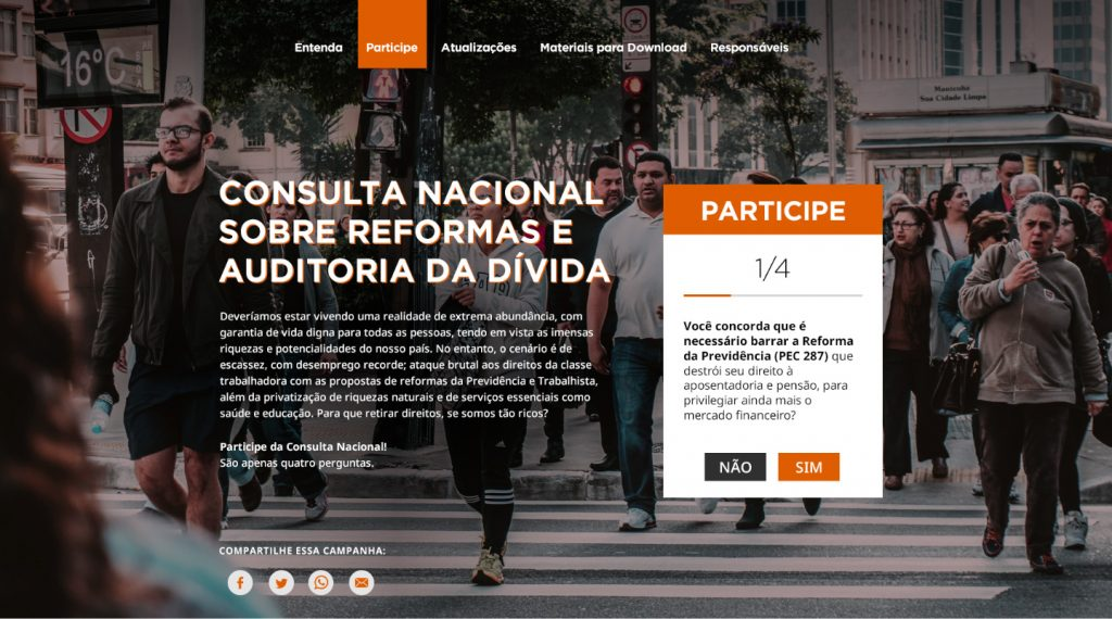 foto site consulta popular